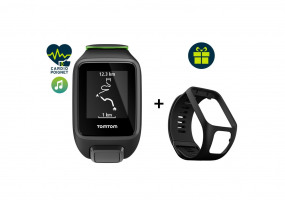 Pack Runner 3 Cardio + Music - Small + Bracelet noir Large offert
